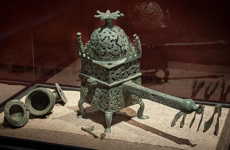 bild av en antik glödpanna