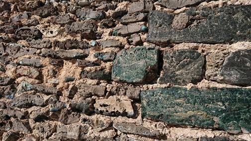 stenvägg slaggsten