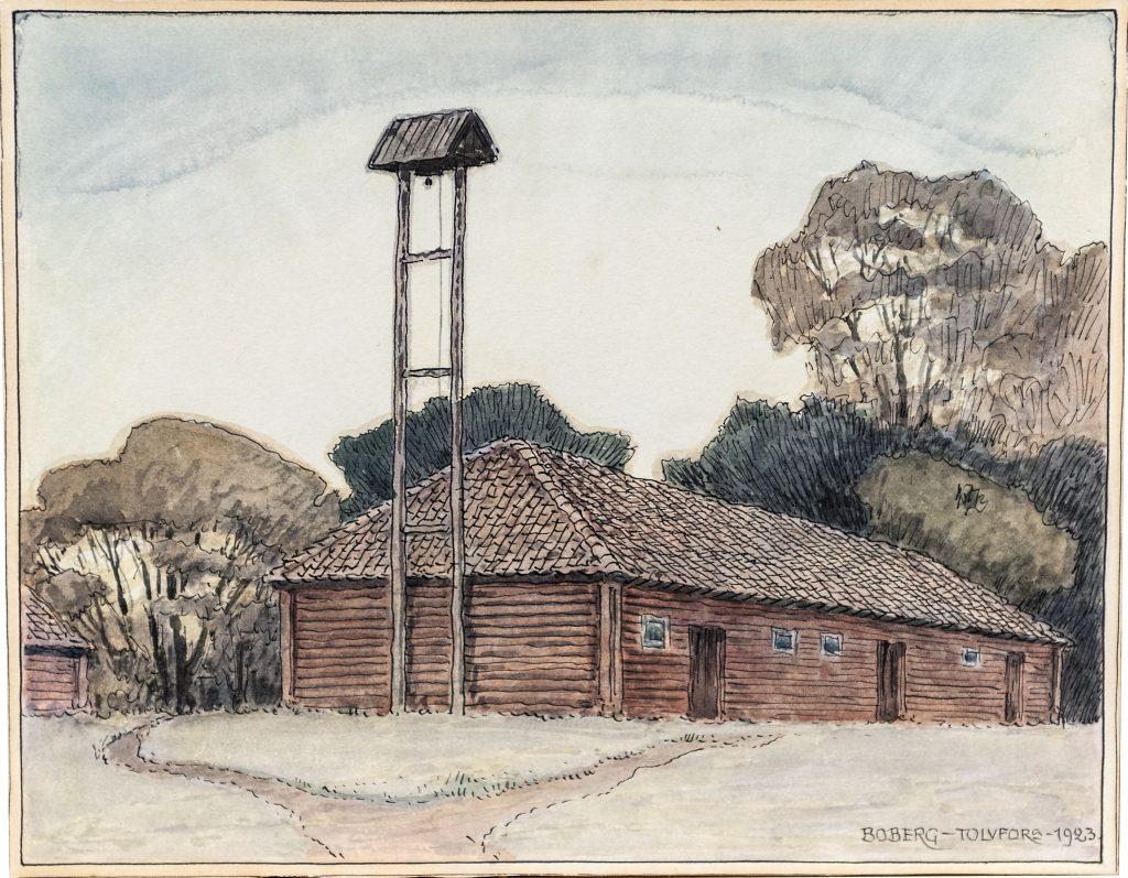 målning av byggnad i tolvfors